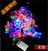 10 meters multicolour led lighting christmas lights flasher string christmas tree lighting belt end plug m bubble lamp