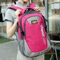 Women's color block lovers computer bag ladies women's men's middle school students school travel bag backpacks