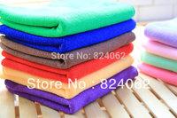 "1000pcs/lot 30*70cm(12""*28"") Microfiber Fabric Towels Micro Fibre Cleaning Cloth Funiture Glass Window Mirrors Screen Dust Rag"