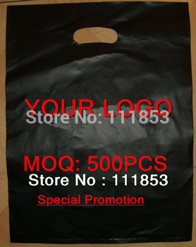 Free shipping! MOQ 500pcs Customized punching bag, shopping bag,plastic bag with logo,for promotion!