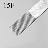 double line pin 15F professional tattoo needle 50pcs on sale with free shipping