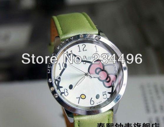 2013 ,,Hello kitty Cute Lovely Girl woman lady hello kitty watch girls watch,child wedding gift Wrist watches 46(China (Mainland))