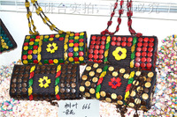 coconut shell shoulder bags