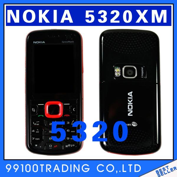 Original Nokia 5320 Xpress Music 3G 2MP Camera phone - Free Shipping Refurbished(China (Mainland))