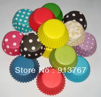 400pcs MIXED mini cupcake liner baking cup cake pan cake tool