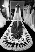 Clothing 2013 luxurious train wedding dress rhinestone quality lace train wedding dress