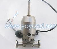 Stainless Steel SS 316L Sanitary Pneumatic Diaphragm Valve