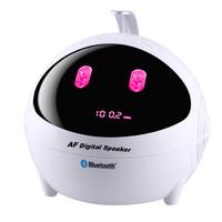 Cartoon mini card small audio bass speaker bluetooth mp3