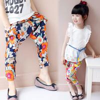 summer artificial cotton harem pants