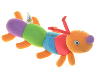 Dream Star colorful  plush baby early learning toys  - caterpillar