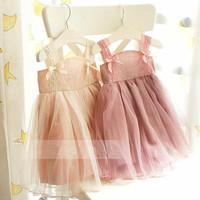 New! Free Shipping! 2014 New Fashion Summer Children Girls Dress,Girls Lace TUTU Dresses,5pcs/Lot,Childrens Dresses