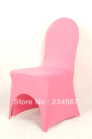 100pcs Fuchsia Spandex/Lycra Chair Cover For Wedding/Hotel/Banquet Free Shipping