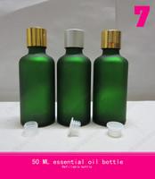 50ML  lfrosted glass bottle lip gloss tube ,empty palettes