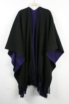Fashion elegant tassel oversized scarf women's vintage color block decoration thermal cape fashion dual-use large scarf