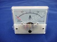 85C1 DC 0-2A Rectangle Analog Amperemeter Panel Meter Gauge