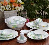 Jingdezhen ceramic high quality bone china dinnerware set 56 ceramic bowl bone china bowl microwave oven