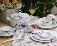 56 dinnerware set bone china bowl ceramics porcelain gift china bowl