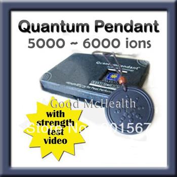 -=< Retail >=- 5000 ~ 6000 ions Quantum Scalar Energy Pendant Classic Design Free Shipping