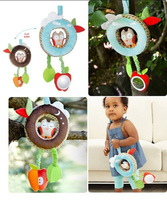 Wholesale new 2013 Skip Hanging Bell Super Soft Muscial Car Hanging toys Baby Toy Doll  toys 0-12 months  3pcs/lot