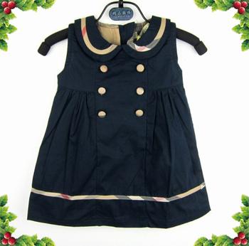 Free Shipping 2014 Cheap Fashion 2014 NEW girls black plaid dress,kids grid dress,Fashion brand checker dress