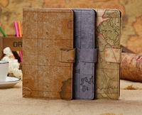 new nexus 7 leather case,2013 map skin leather case for google nexus 7 II 2nd cover,with card slot free shipping
