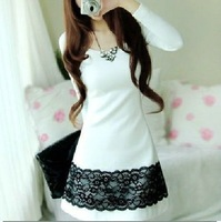 2013 new women's korea fashion casual cotton dress Lady dress