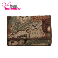 wholesale card holder women money clip cute women wallet genuine leather wallet brand wallet designer handbag