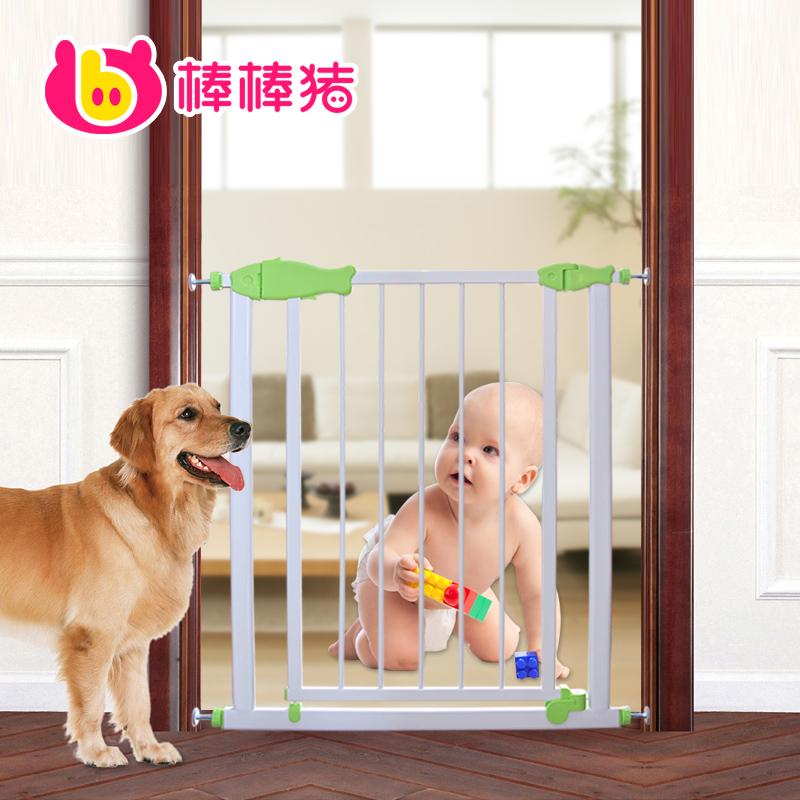 Segurança do bebê Pig portão guardrail cerca portão de estimação isolamento cerca escada pet(China (Mainland))