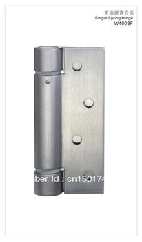 "Door Hinge W4003F-4""x4""x3-P2, Single Spring, Stainless Steel 304, Satin Stainless Steel, Passage Doors, Auto Close Doors"