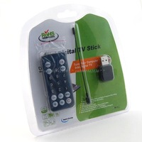 Mini Digital TV Stick DVB-T Digital USB TV Adapter/Dongle/Stick Freeview Receiver/Recorder & Aerial for PC and Laptop