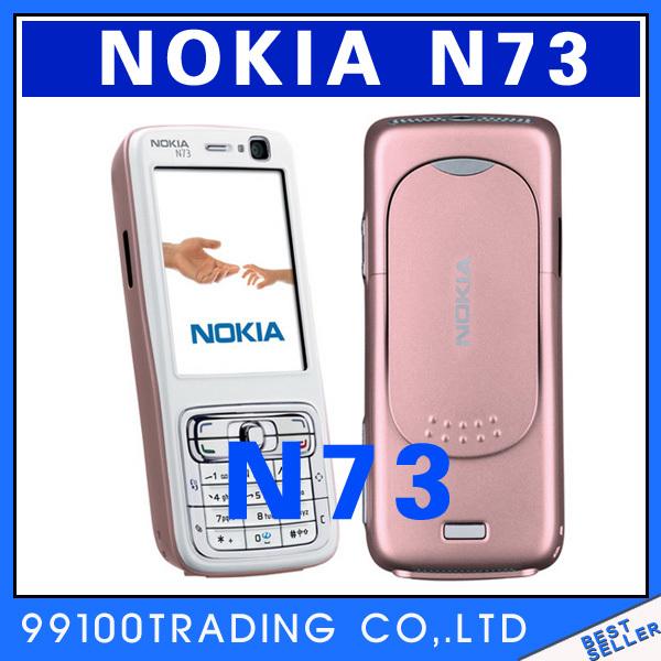 Mobile Phone Nokia N73 3G Bluetooth Jave FM Radio 3.15MP Free Shipping Refurbished(China (Mainland))