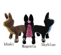 Free Ship 2013 Cute PVC leather 3 Colors Dog Torsos Dog Models Dog Mannequins