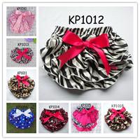 2013 New Fashion Kid's Underwear Baby Girl's Satin Layer Bow Training Pants Beautiful Panties 12 pcs lot KP1010