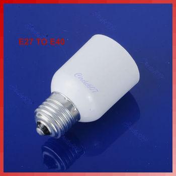LED Base E27 to E40 Light Lamp Bulbs Adapter Converter Free Shipping