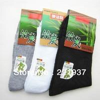 1Lot=10Pair=20Piece Free Shipping bamboo fiber All Cotton Classic Business Men's Sock Brand Mens Socks Men Cotton Winter Sock