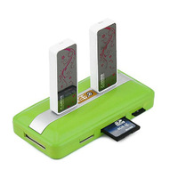 Portable USB 2.0 6-Port with Memory Card Slot Multifunction Hub