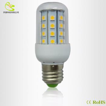 Free shipping  G4 5W  SMD 5050 Led corn bulb  220V E27  Led lamp 5W