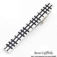 - Free shipping!Black High Light Tie Clip ZB1770