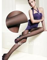 Free Shipping Women's High Quality Plus Size Core-spun Four Color Elastic Pantyhose Nude/Black/Coffee/Grey WZ13040917-3