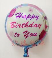 Classic hot-selling ! cartoon balloon aluminum foil balloon circle