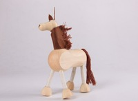 free shipping Large animal doll - - lucky horse animal model  wholesales