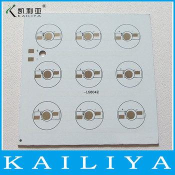 6pcs 100*100mm 9W High Power LED Pcb Aluminum Plate Heat Sink Base