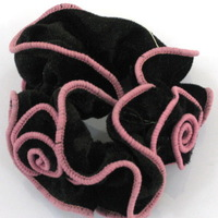 Free Shipping!Mixed-color Fabric Headdress 3 Flower 20pcs/Lot