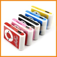 Colorful Mini Clip Card MP3 Player Support 1GB 2GB 4GB TF Card MP3