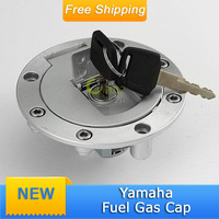 New Motorcycle Aluminum Fuel Tank Gas Cap Door  Locking Cover For Yamah* YZF