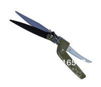 High quality Carbon steel Gardening scissors Lawn scissors Garden Tools Free Rotating Blade Branchlets Scissors Garden Shears