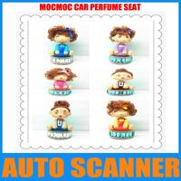 Fashion Car Perfume Seat with Cartoon Shape (Mario) Air Freshener with high quality & free shipping