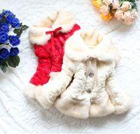 Junoesque Boys Toddler Girls Faux Fur Fleece Lapel Coat Kids Winter Warm Jacket