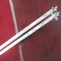 Pure silver jewelry s990 solid silver pure silver chopsticks 999 fine silver