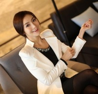free shipping 2013 tops women coat Womens Stylish Suit Blazer Swallow Tail Power Shoulder Coat silm Jacket high quality